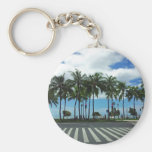 Playa Hawaii de Waikiki Llavero