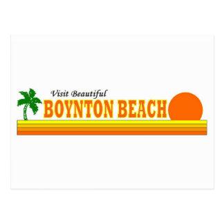 Playa hermosa de Boynton de la visita Postal