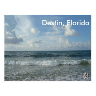 Playa hermosa de Destin la Florida Postal