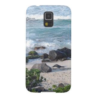 Playa hermosa de Hawaii Funda De Galaxy S5
