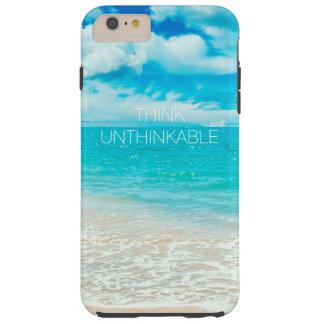 Playa hermosa del verano funda de iPhone 6 plus tough