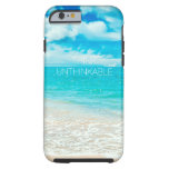Playa hermosa del verano funda de iPhone 6 tough