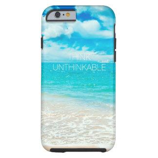 Playa hermosa del verano funda para iPhone 6 tough