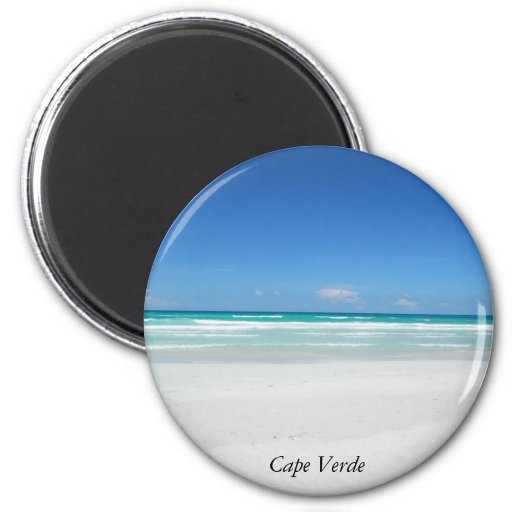 Playa ideal imanes para frigoríficos