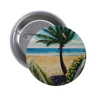 Playa II Pin Redondo De 2 Pulgadas