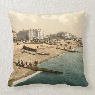 Playa II, Sussex, Inglaterra de Worthing Almohada