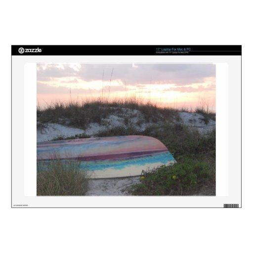 Playa india de las rocas, puerto de FL Scruggs Portátil Skin