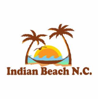 Playa india imán fotoescultura
