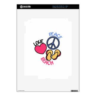 Playa iPad 2 Skins