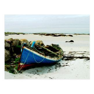Playa Irlanda de Donegal Tarjetas Postales
