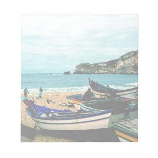 Playa IV de Portugal - barcos coloridos en la Bloc