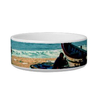 Playa IV de Portugal - barcos coloridos en la Bol Para Gato