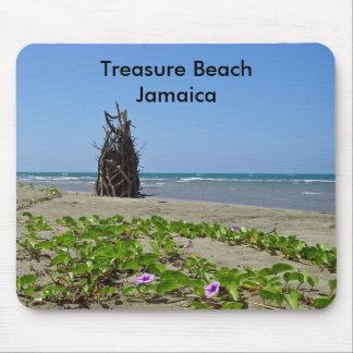 Playa Jamaica del tesoro Tapete De Ratones