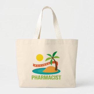 Playa jubilada del farmacéutico bolsas
