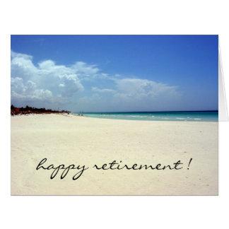 playa jubilada grande felicitacion