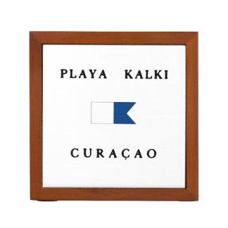 Playa Kalki Curacao Alpha Dive Flag Pencil/Pen Holder