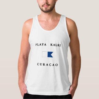 Playa Kalki Curacao Alpha Dive Flag Tank Top