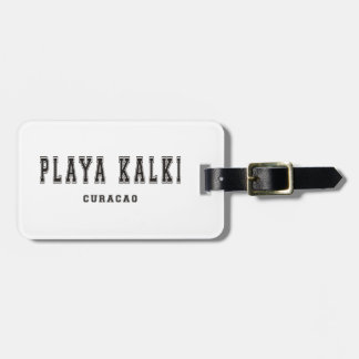 Playa Kalki Curacao Bag Tags