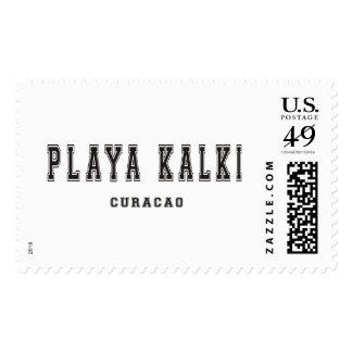 Playa Kalki Curacao Postage