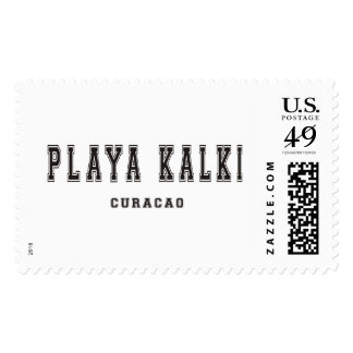 Playa Kalki Curacao Postage Stamps