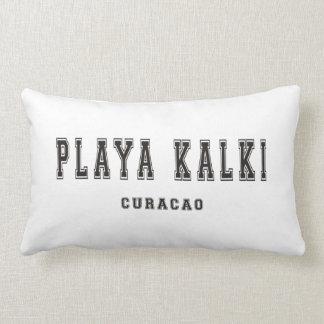 Playa Kalki Curacao Throw Pillows