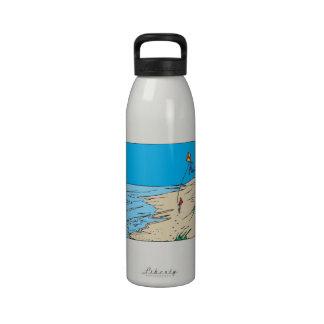 Playa Kiting Botella De Beber