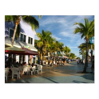 Playa la Florida de fuerte Myers Tarjetas Postales