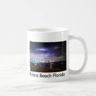 Playa la Florida de Riviera Tazas De Café