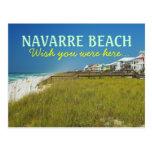 Playa la Florida - deseo de Navarra usted estaba a Tarjetas Postales