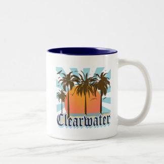 Playa la Florida FLA de Clearwater Taza