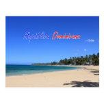 Playa Las Terrenas Samaná República Dominicana Postal