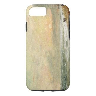 Playa levantada, c.1824 (aceite en el documento funda iPhone 7