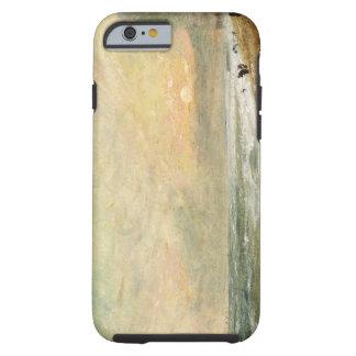 Playa levantada, c.1824 (aceite en el documento funda resistente iPhone 6