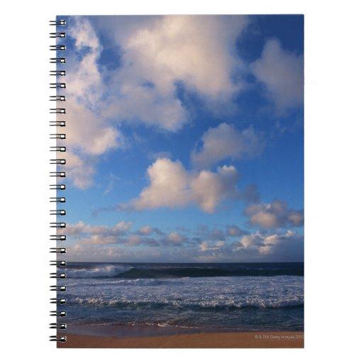 Playa Libro De Apuntes Con Espiral