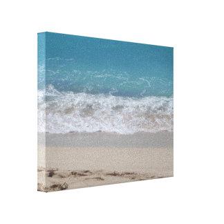 Playa Impresiones En Lona