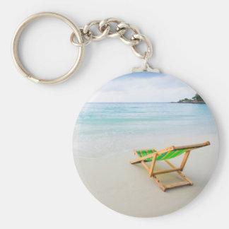 Playa Llavero Redondo Tipo Pin