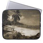 Playa Los Caballos Antique Laptop Sleeves