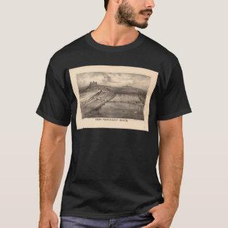 Playa Massachusetts de Nantasket en 1879 Playera
