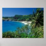 Playa Maui de Hamoa Poster