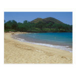 Playa Maui Hawaii de Makena Tarjeta Postal