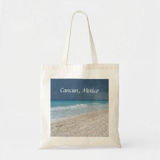 Playa mexicana bolsas lienzo