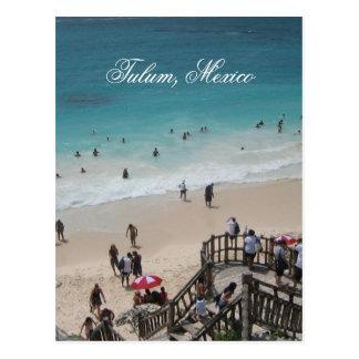 Playa mexicana tarjetas postales