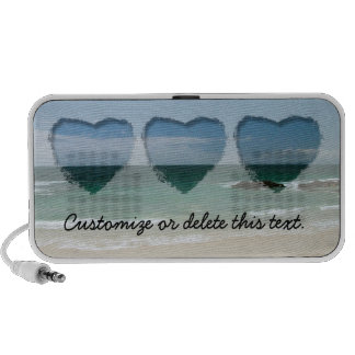 Playa mexicana Vista; Personalizable iPhone Altavoz