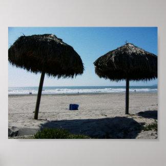 Playa MÉXICO de CA Rosarito Posters