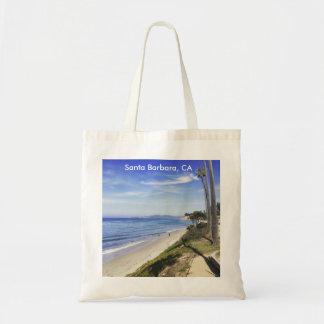 Playa Montecito de la mariposa de Santa Barbara Bolsa Tela Barata