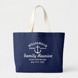 Playa náutica de la travesía del viaje de la bolsa de tela grande