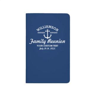 Playa náutica de la travesía del viaje de la cuadernos