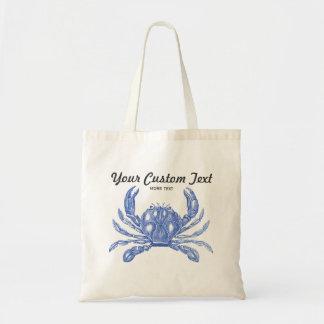 Playa náutica del personalizado del cangrejo azul