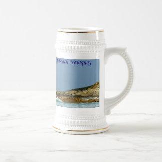 Playa Newquay Cornualles Inglaterra de Fistral Jarra De Cerveza