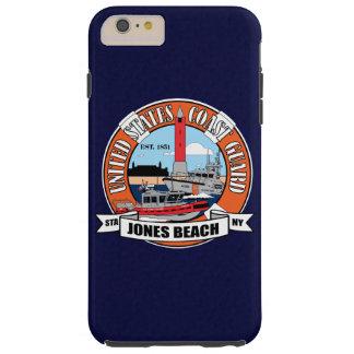 Playa Nueva York de Jones de la estación de Funda Para iPhone 6 Plus Tough